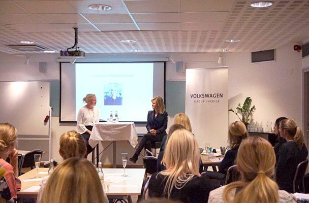 Ulrika Nilsson berättade om sin karriär som nyhetsankare.
